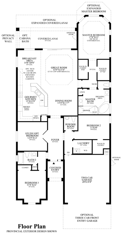 Massiano - Floor Plan