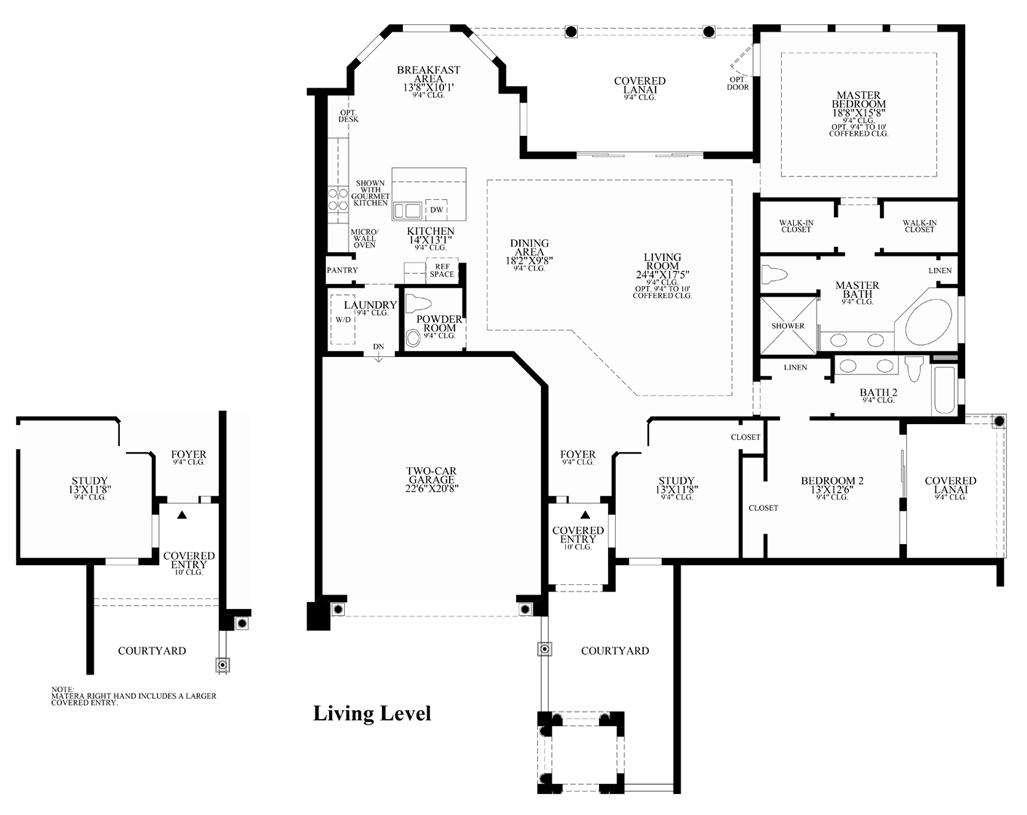 Matera - Floor Plan