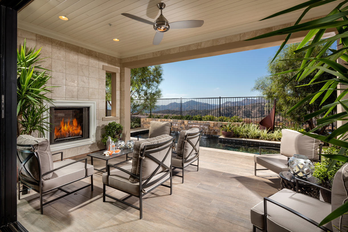 Living Spaces Vista Ca : Porter Ranch Avila - Glen Collection - Mayberry