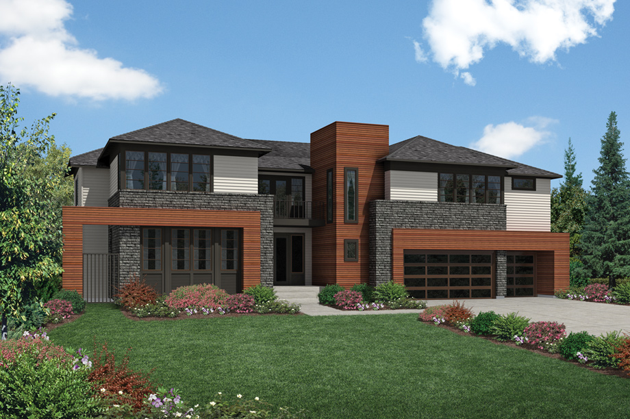 New luxury homes for sale in bellevue wa belvedere at for Contemporary model homes