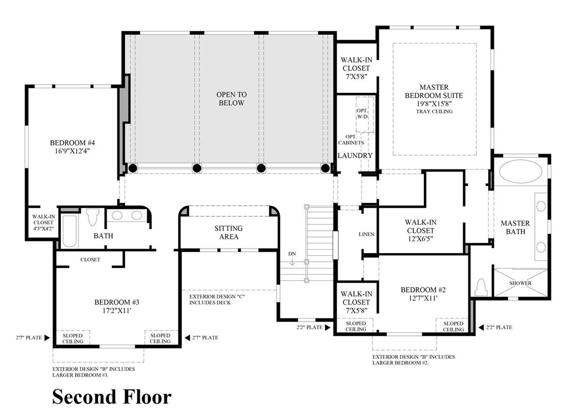 Floor Plan Toll Brothers Washington Trend Home Design