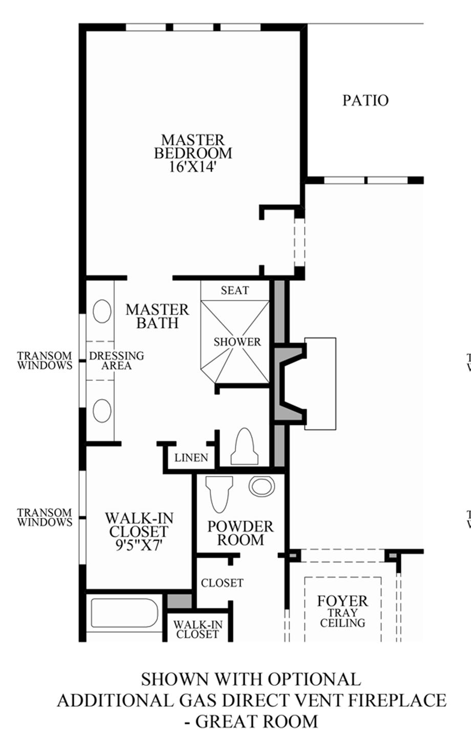 Regency At White Oak Creek The Medford Home Design