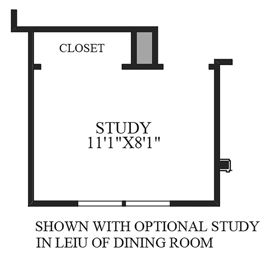 Optional Study ILO Dining Room