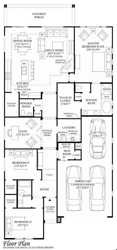 Mellina - Floor Plan