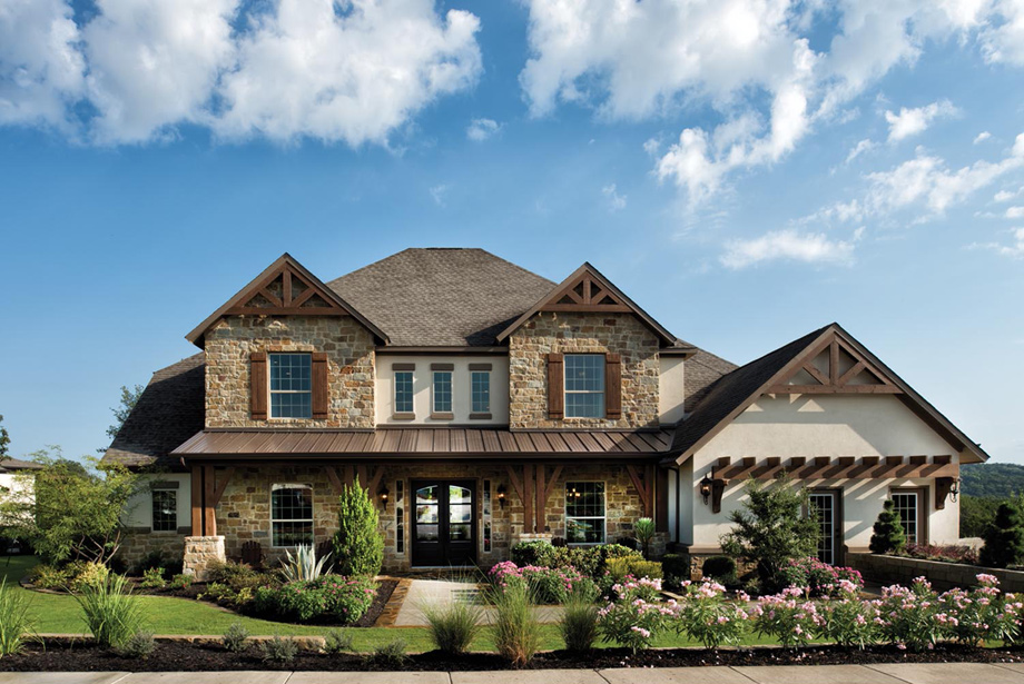Sienna plantation village of sawmill lake the plaza for Hill country house plans luxury