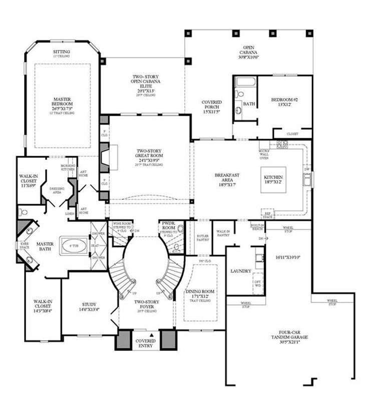 Merida Chateau - 1st Floor