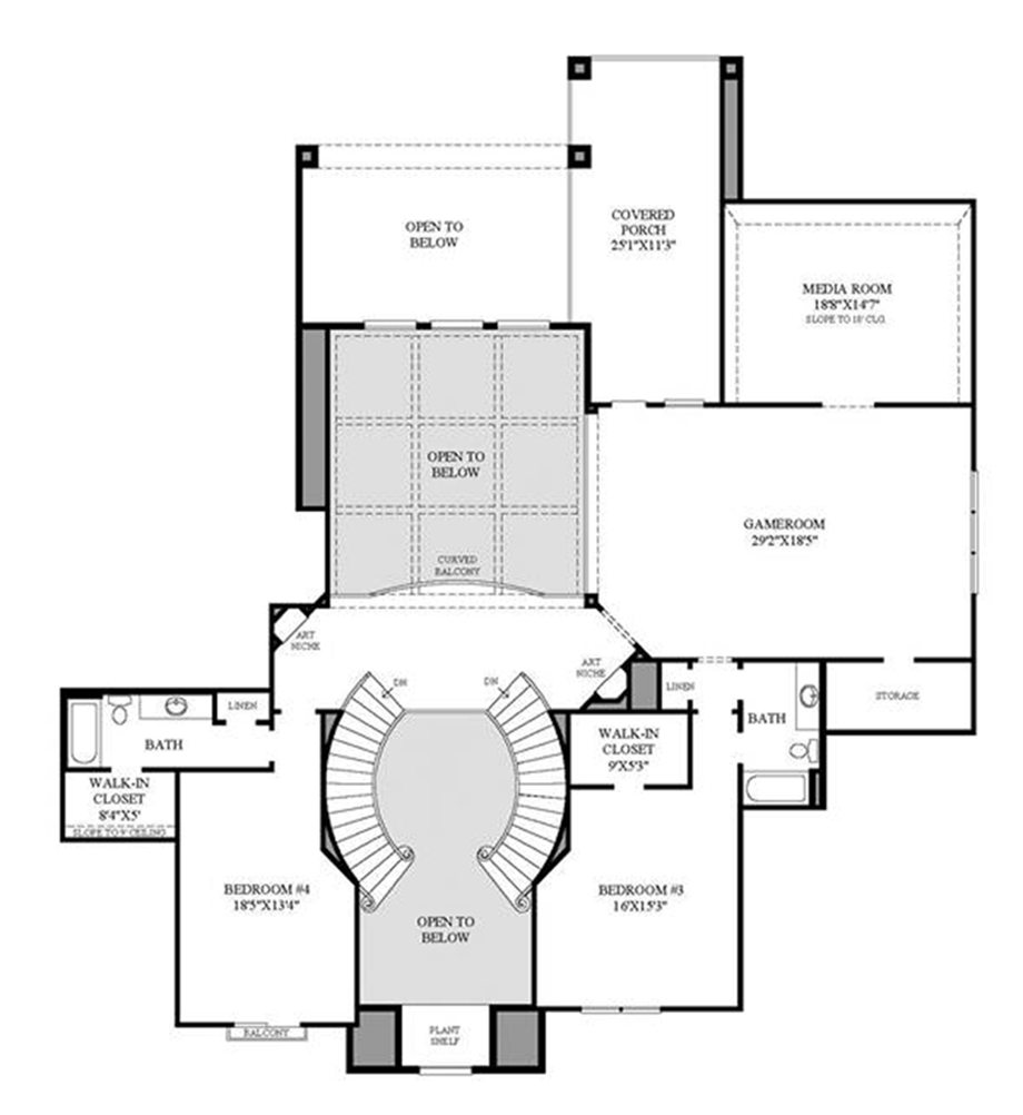Award winning open floor plans remodelwest award winning for Award winning floor plans