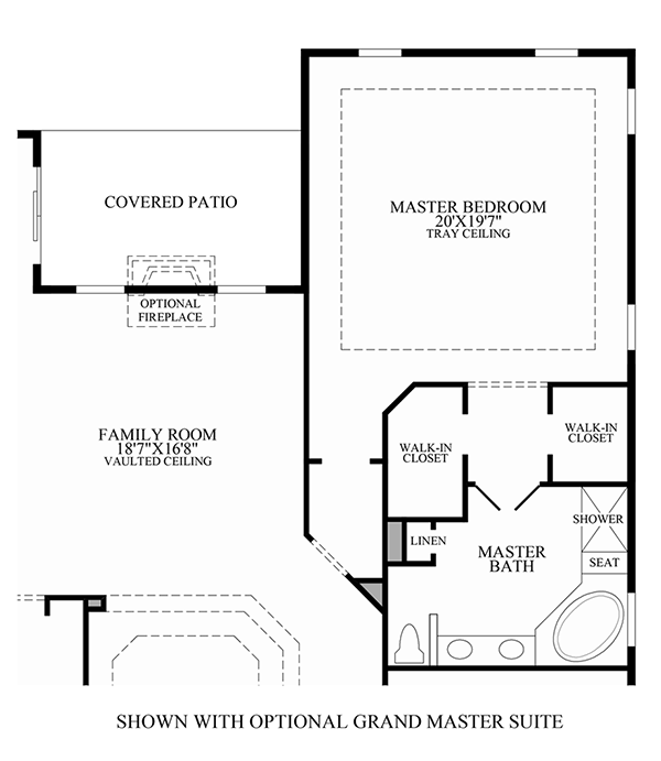 Optional Grand Master Suite