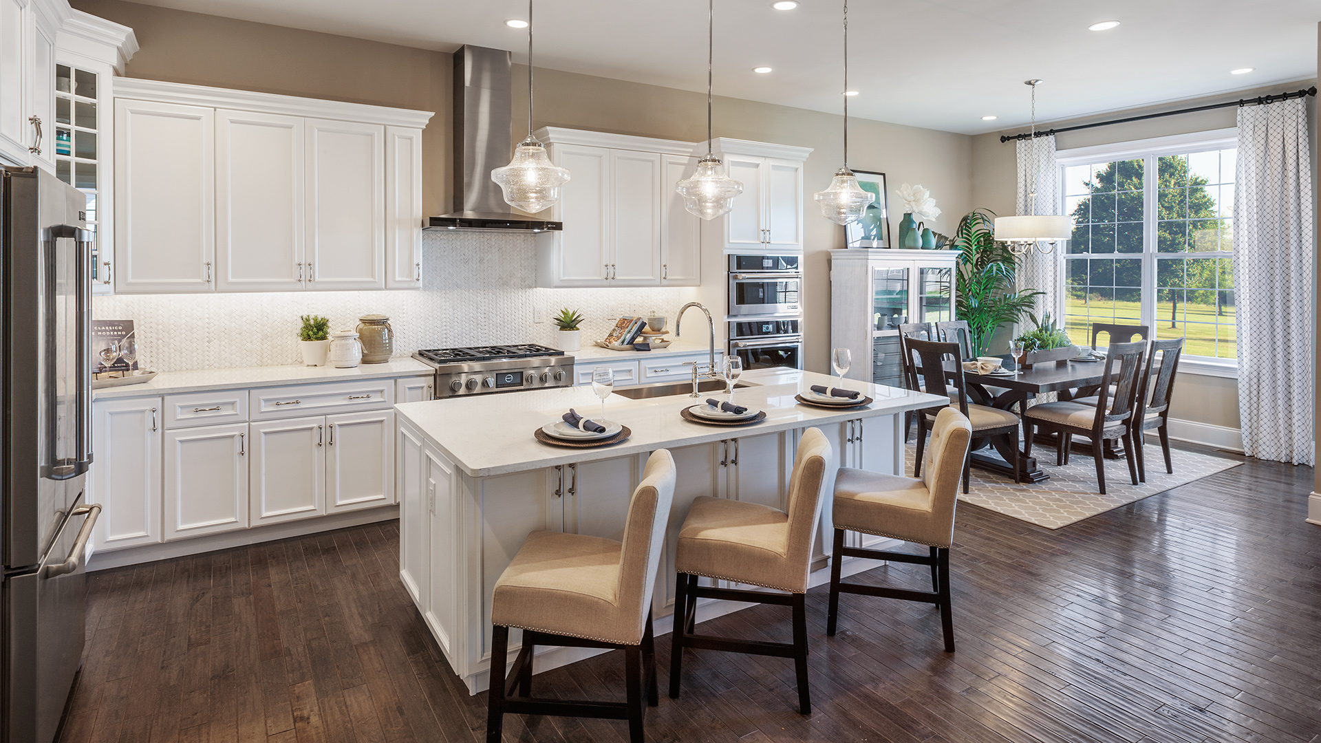 Kitchen Model Of The Merrick Home Design Available In Dresher Pa