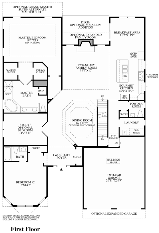 Toll Brothers At The Pinehills Vista Point on Toll Brothers Plymouth Floor Plan
