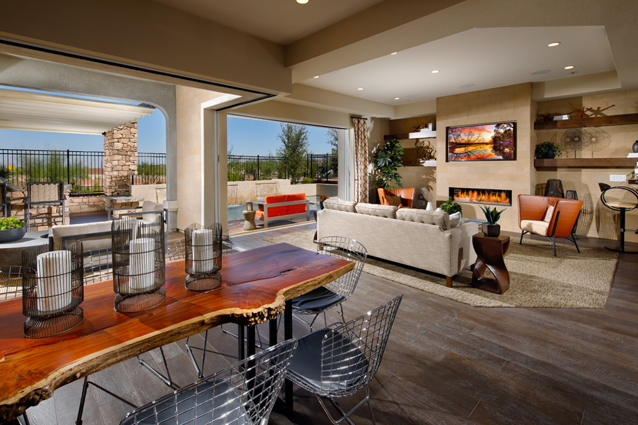 Toll brothers at inspirada veneto the messina home design for Model home decorations for sale