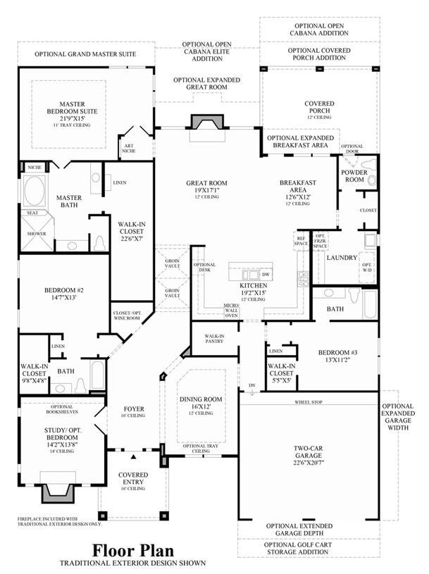 Milanese - Floor Plan