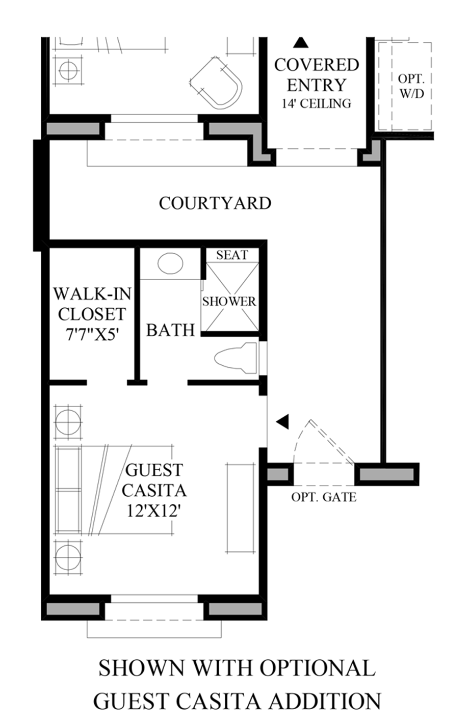 Windgate ranch scottsdale ocotillo collection the moda for Casita home plans