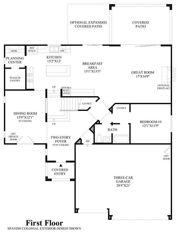 Modesto - 1st Floor