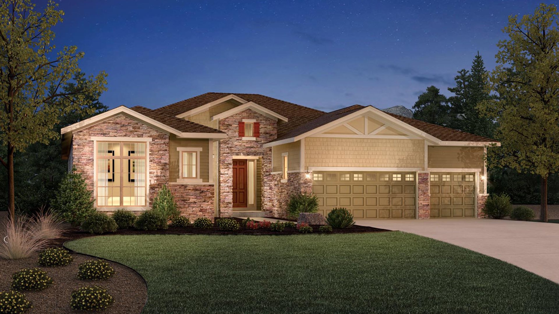 Toll brothers at inspiration boulder collection quick for Luxury home models