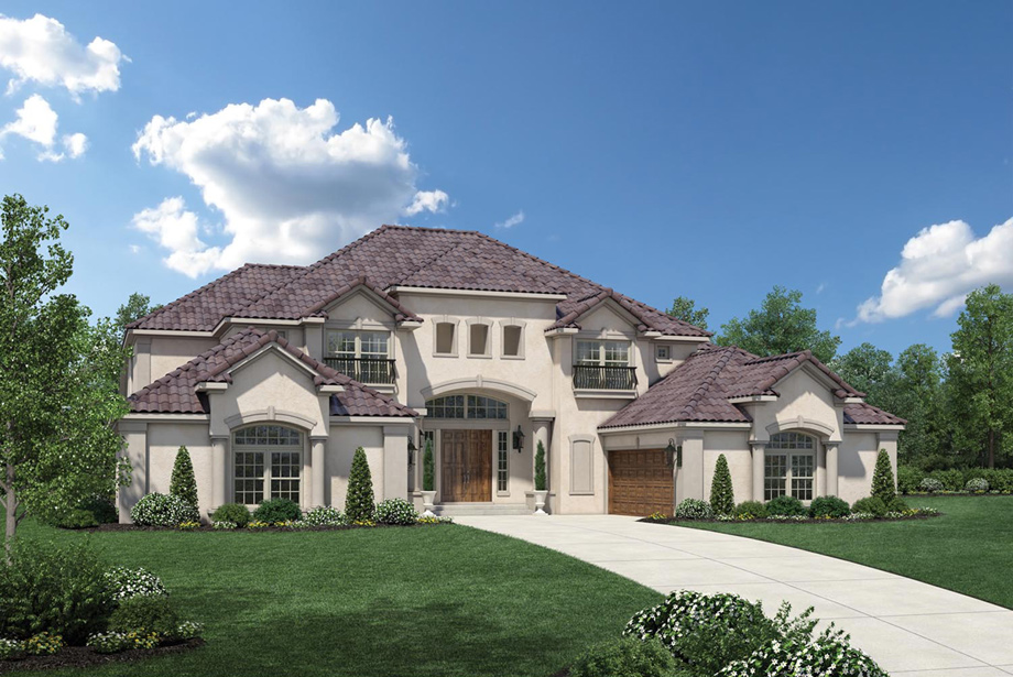 Cinco ranch ironwood estates the sandhaven home design for Ranch model homes