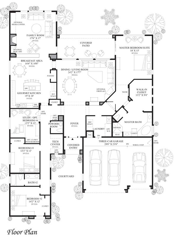 Monteloma - Floor Plan