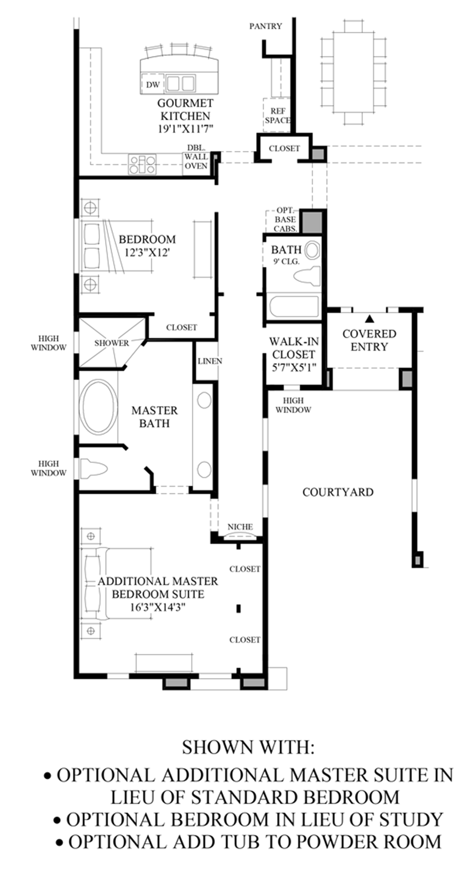Options Floor Plan