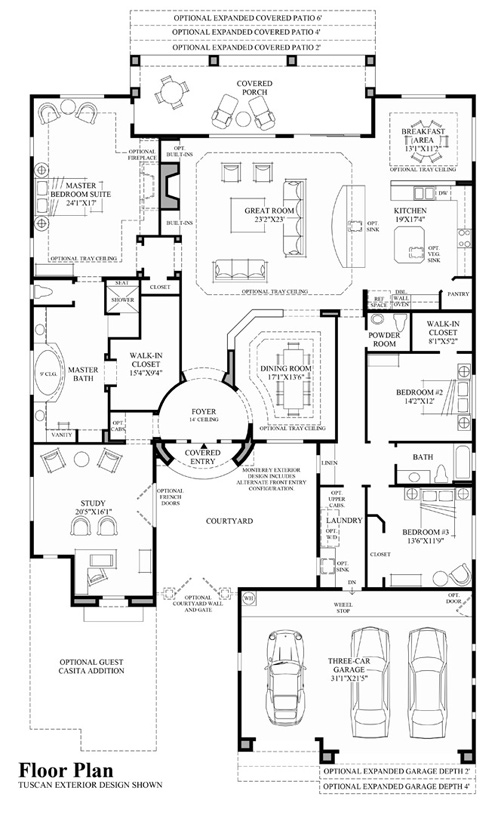 Montierra - Floor Plan