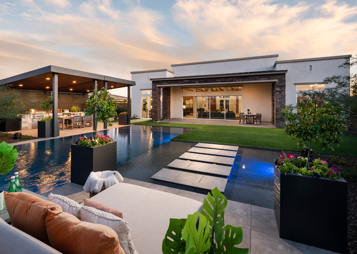 Luxury outdoor living spaces ideal for outdoor entertaining