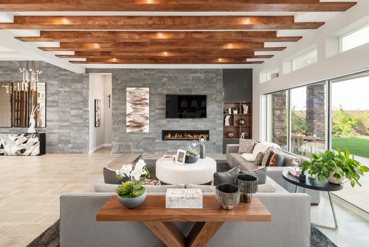 Open concept great rooms with indoor/outdoor living