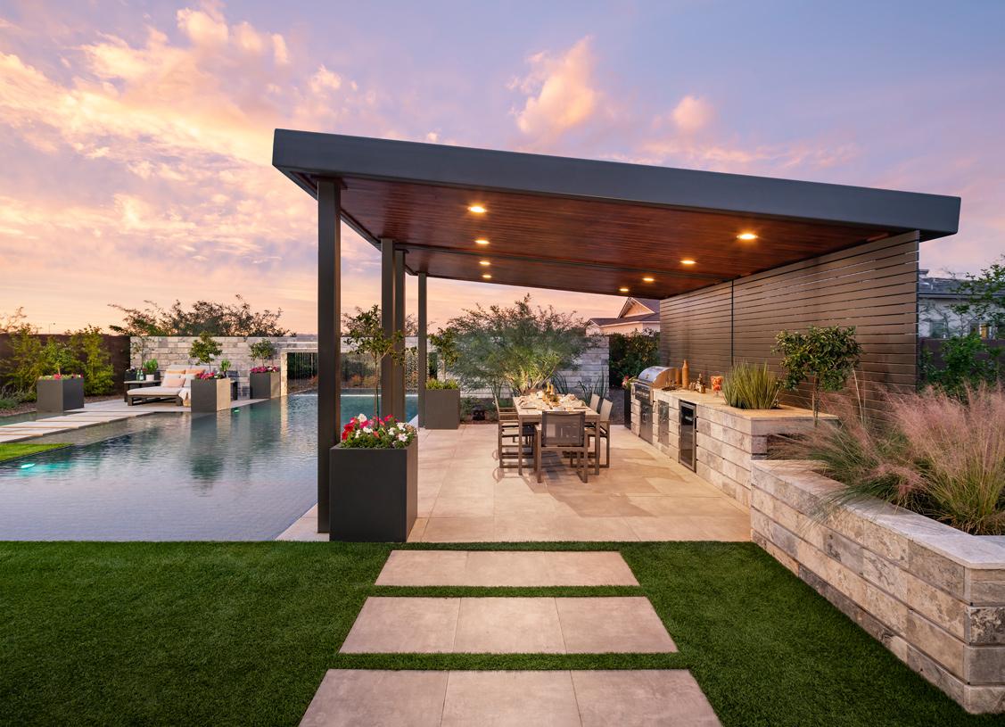 Beautiful outdoor living spaces to enjoy Arizona living