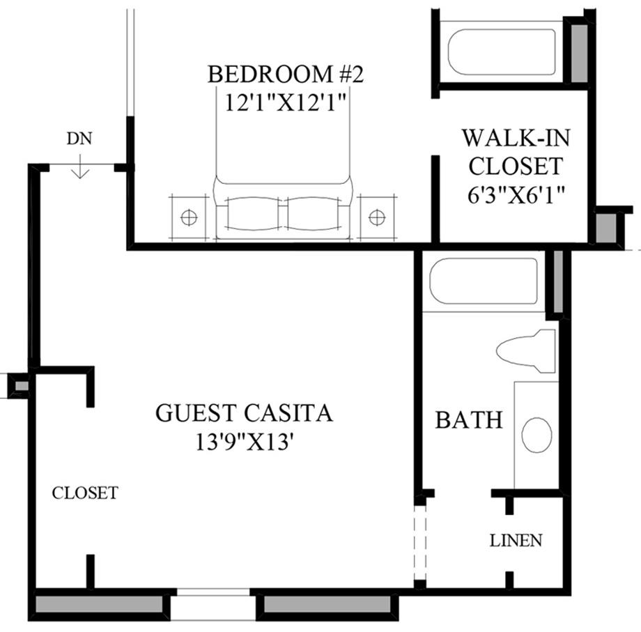 Casita Floor Plans Az Del Webb Sun City Grand Casita