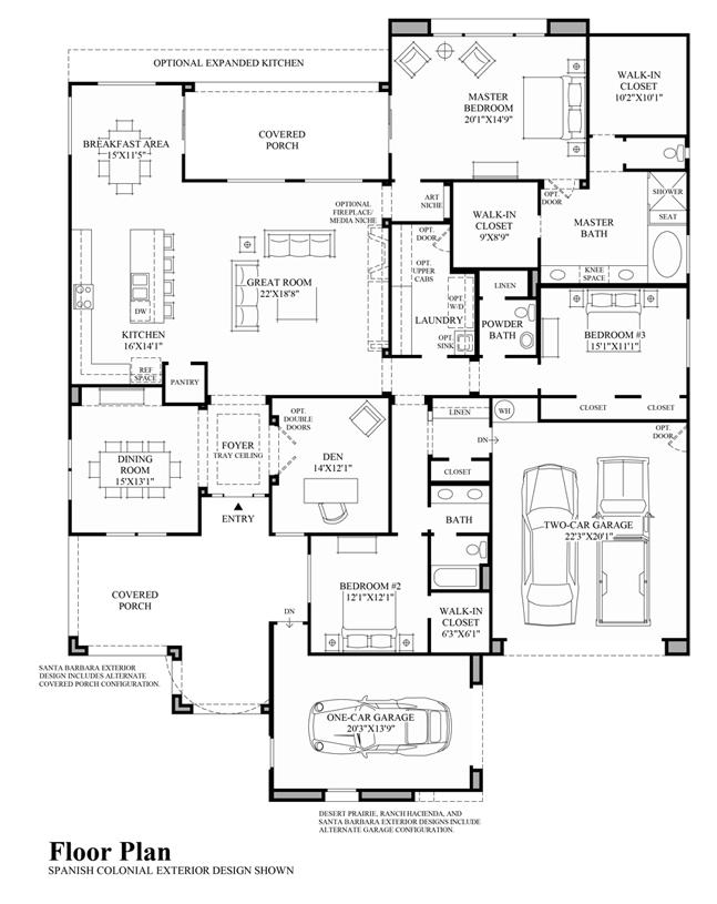 Montilla - Floor Plan