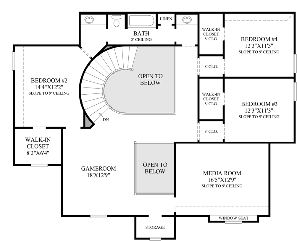 Tomball TX New Construction Homes – Morrison Homes Floor Plans