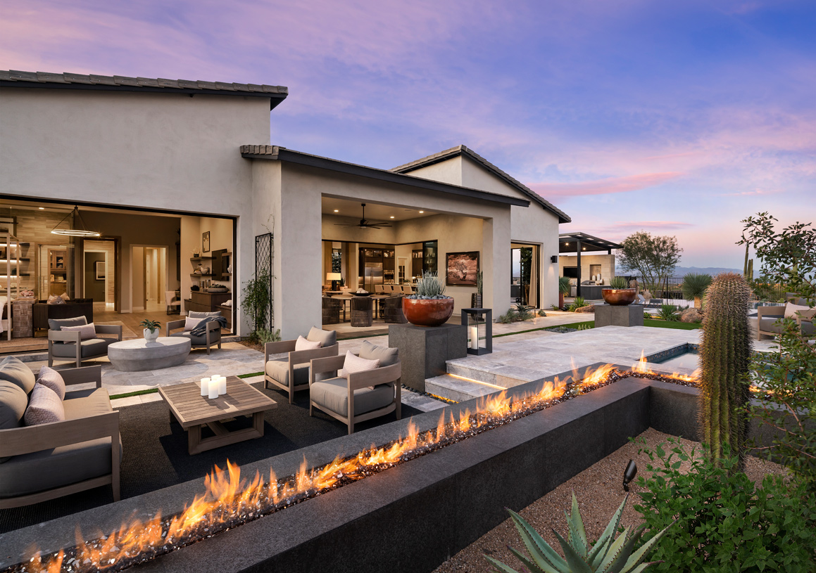 Seamless indoor/outdoor living spaces perfect for entertaining