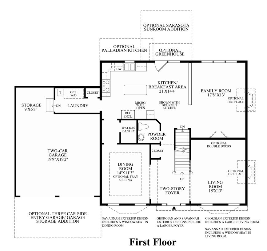 Nantucket - 1st Floor