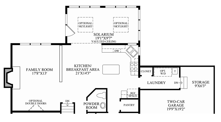 Delaware luxury new homes for sale by toll brothers Nantucket floor plan