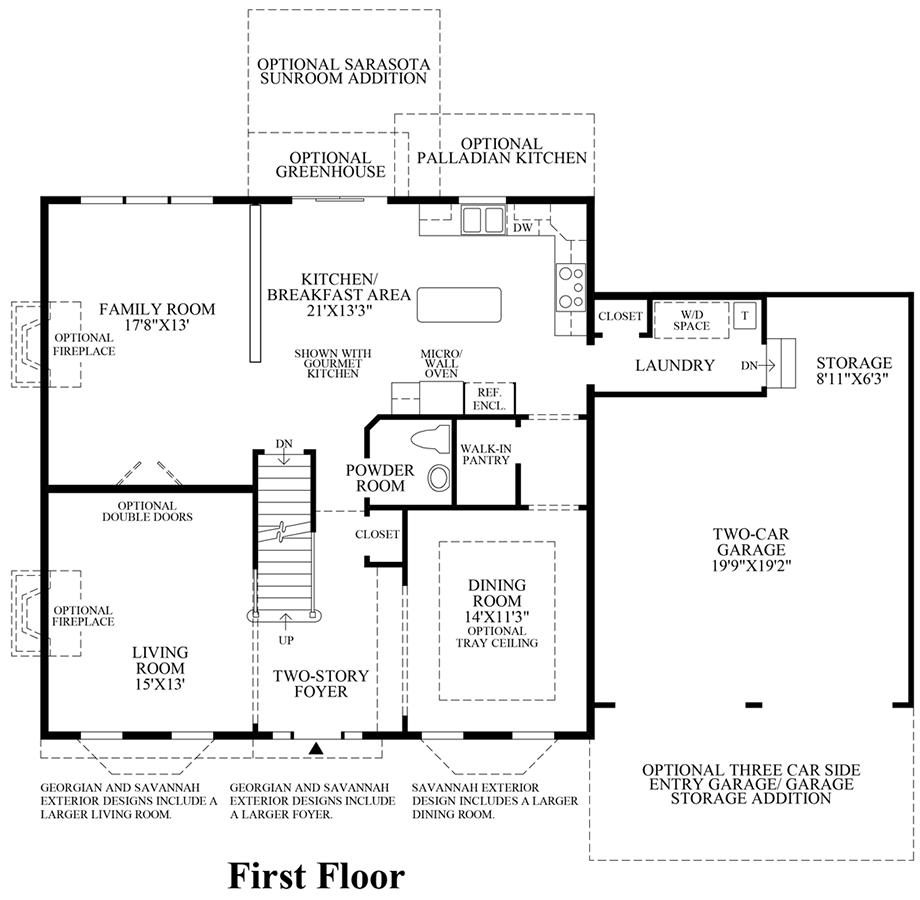 Penn land farm the nantucket home design Nantucket floor plan