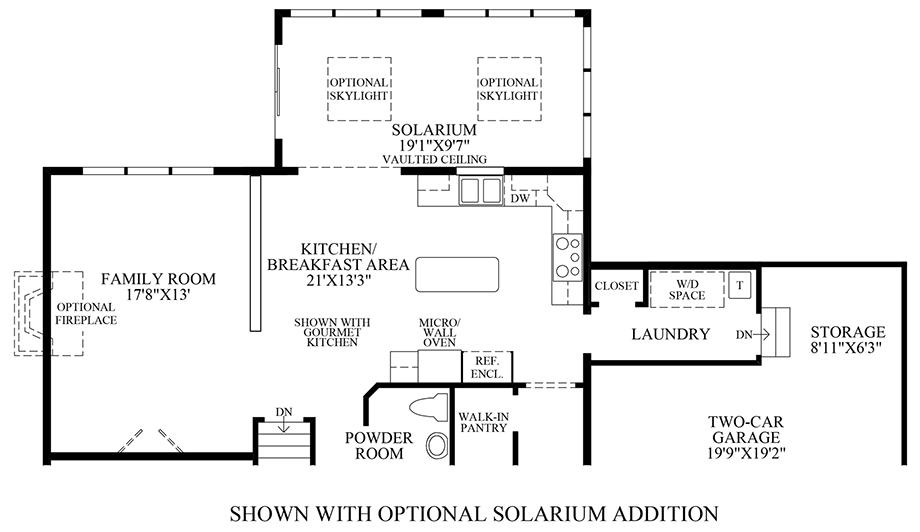 Penn land farm the nantucket home design for Nantucket floor plan