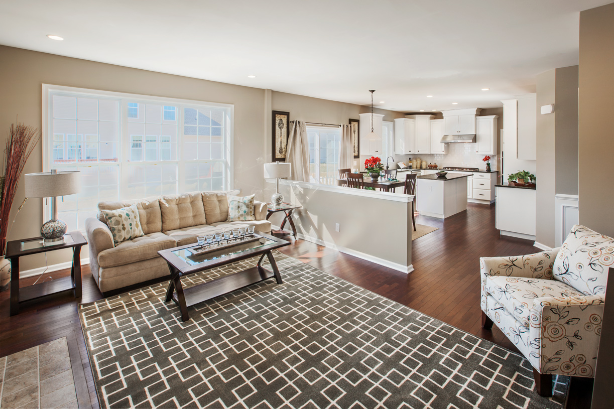 Open-concept living, perfect for entertaining