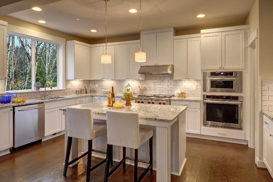 Well designed kitchen offers plenty of storage space