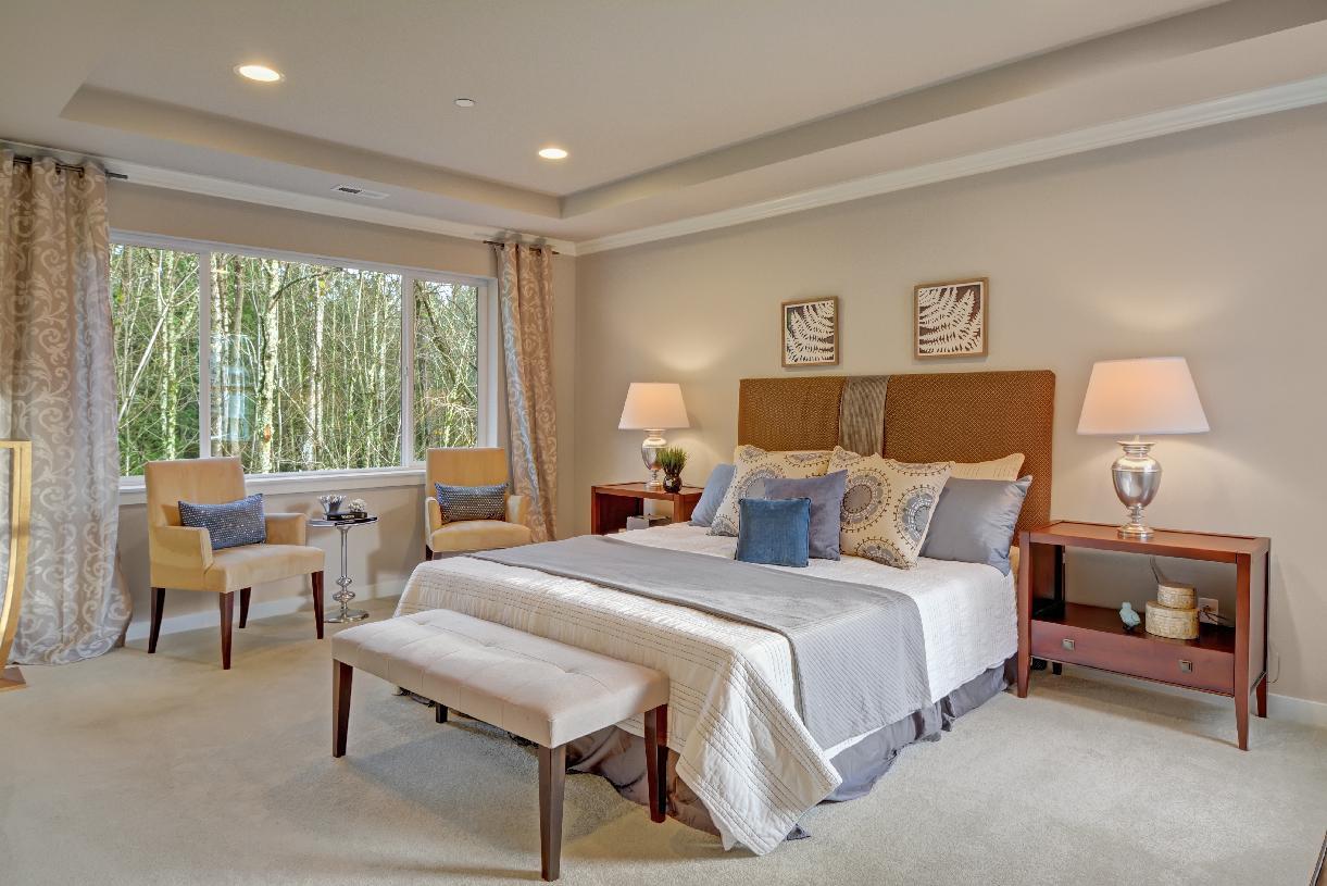 Primary bedroom suite retreat