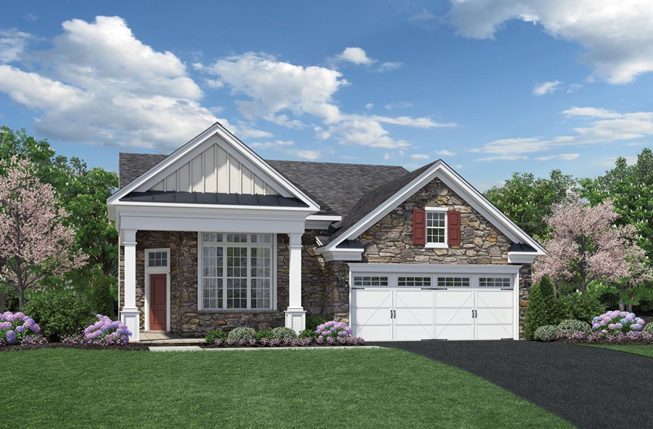 Regency at chancellorsville the bedford home design Home architecture newbury