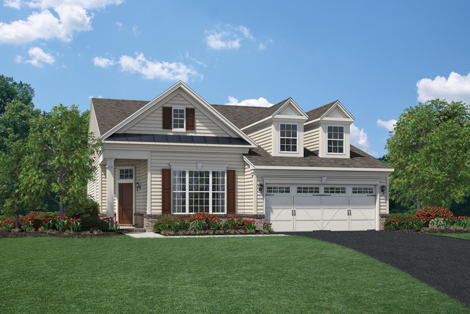 Regency at chancellorsville the bedford home design for Home architecture newbury