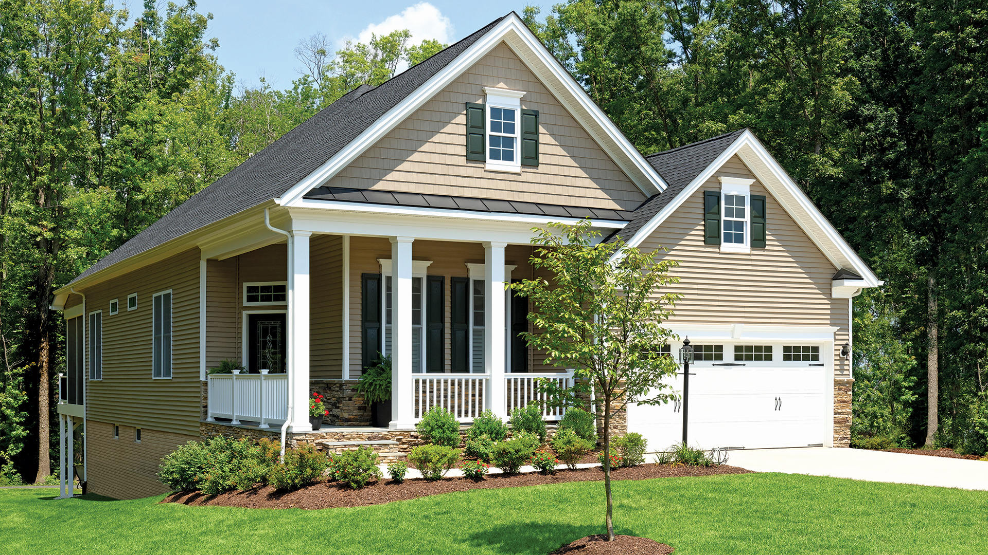 Regency at chancellorsville the newbury home design for Home architecture newbury
