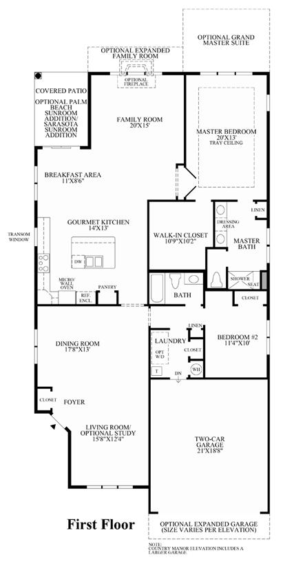 Newbury - Floor Plan