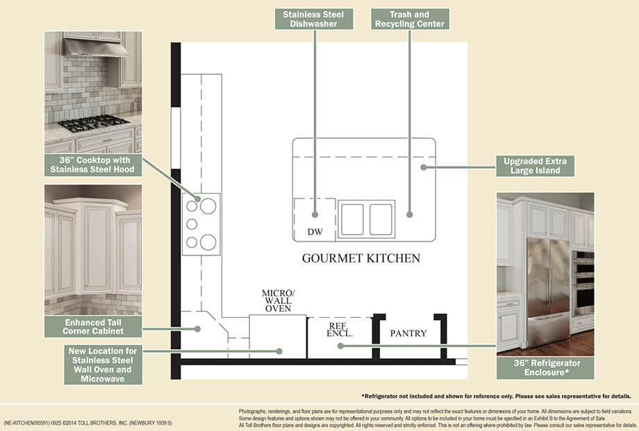 Outstanding kitchen features floor plan for Home architecture newbury