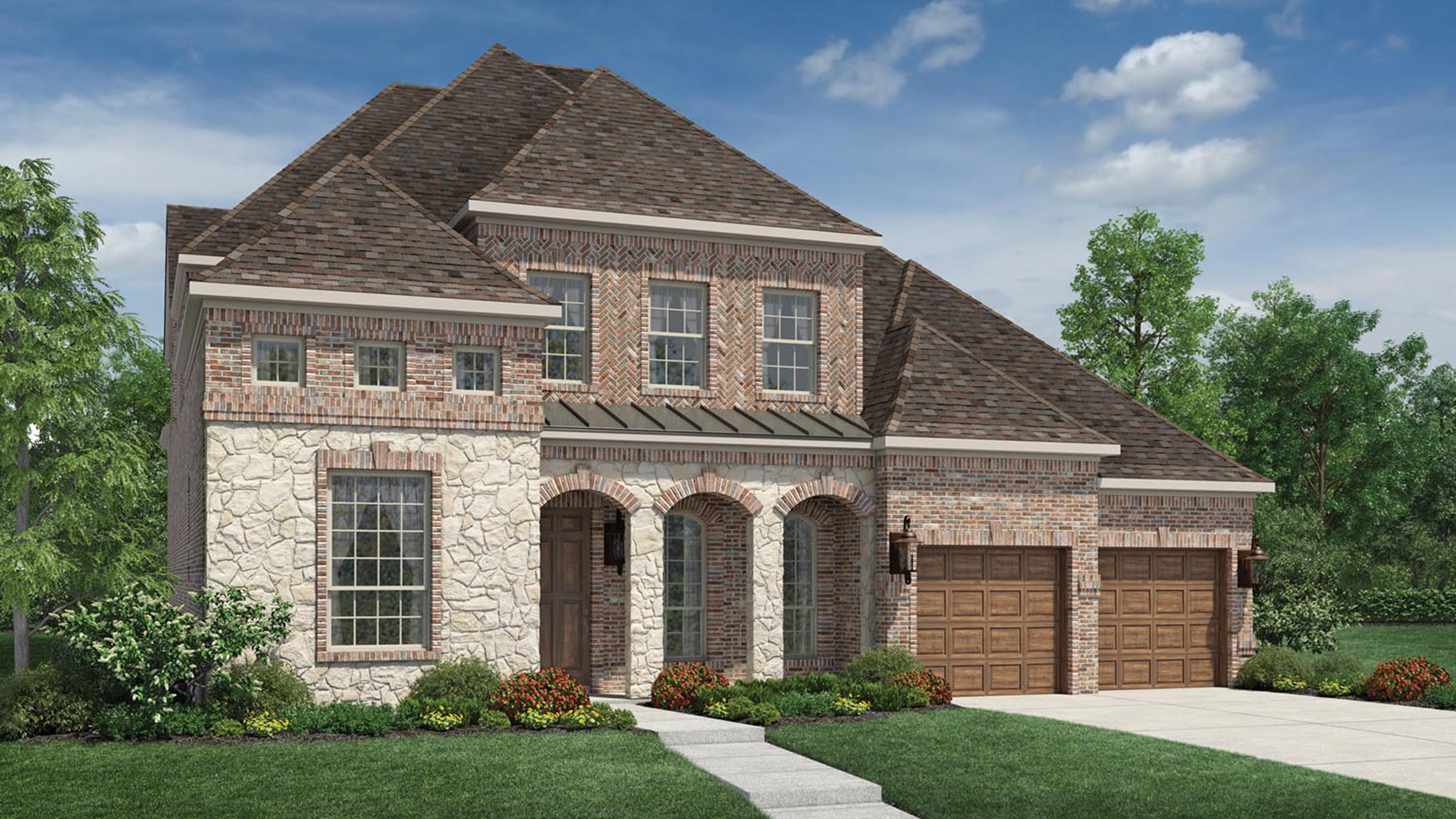 Cinco ranch enclave at ridgefield heights the for Home designs newcastle