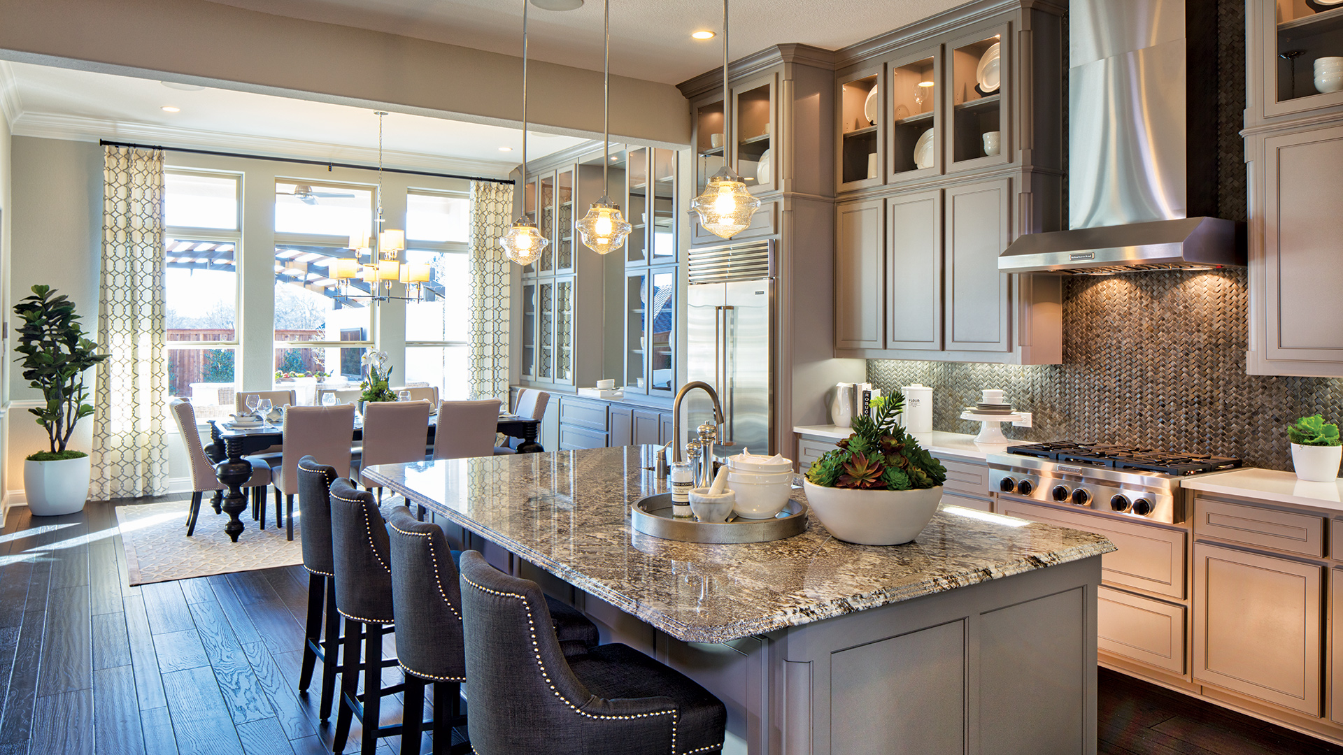 Loving This Open Concept By Tollbrothers: Katy TX New Homes For Sale