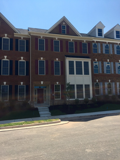 Ashburn va townhomes for sale moorefield green the for Classic homes va