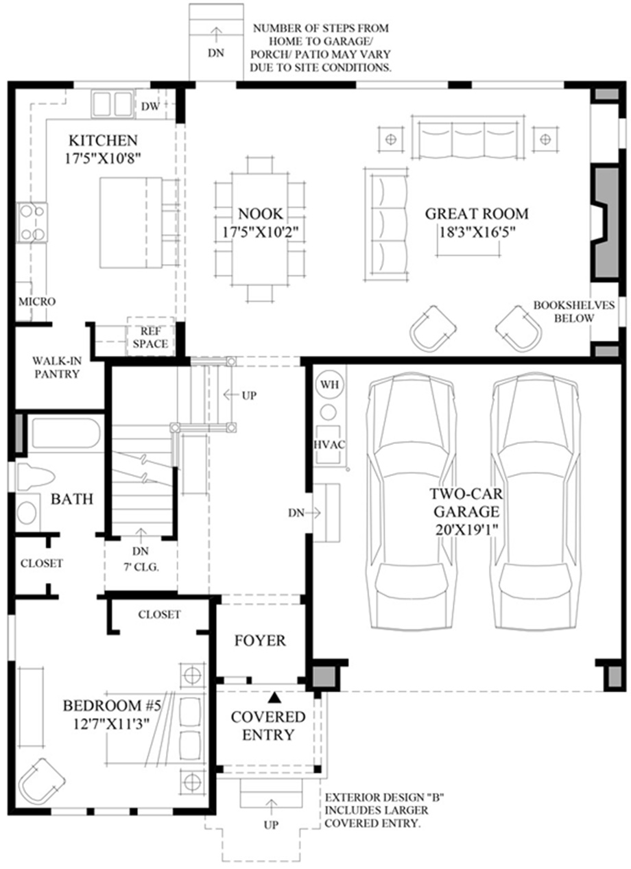 Single Story Garage Apartment Plans