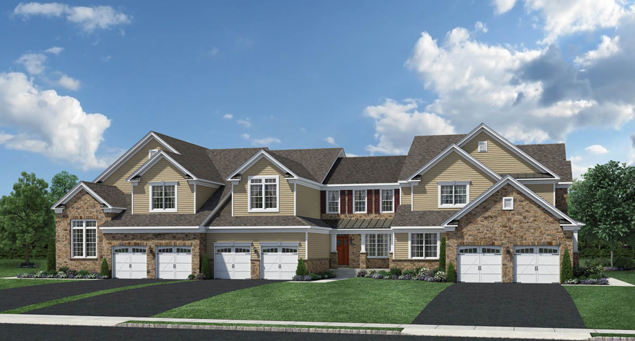 New luxury homes for sale in holmdel nj regency at holmdel for New jersey luxury home builders