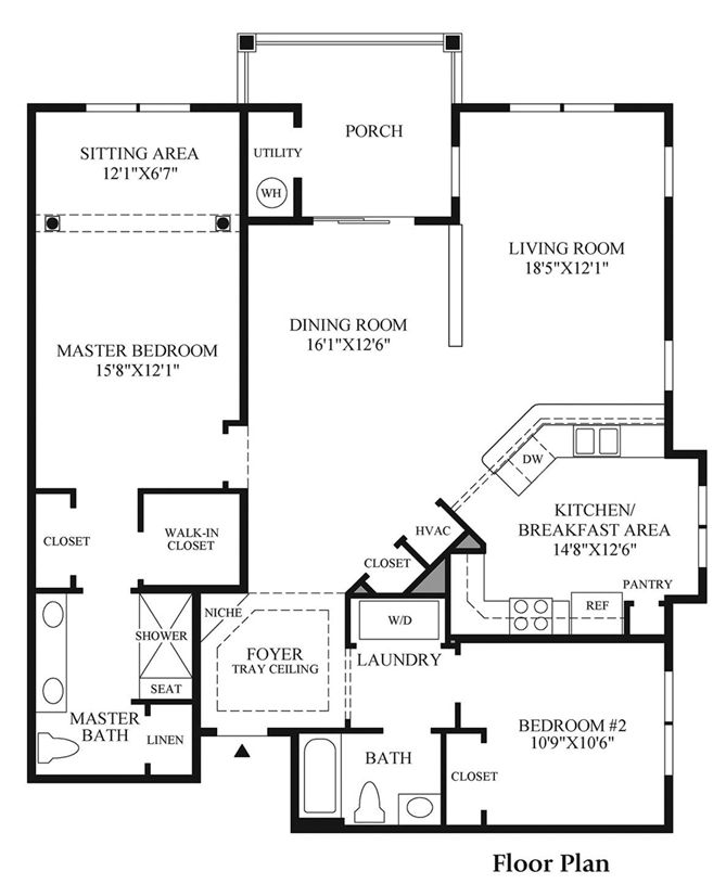 Oakhill - Floor Plan