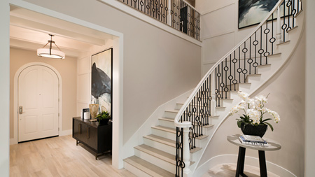 Elegant Staircase at Foyer
