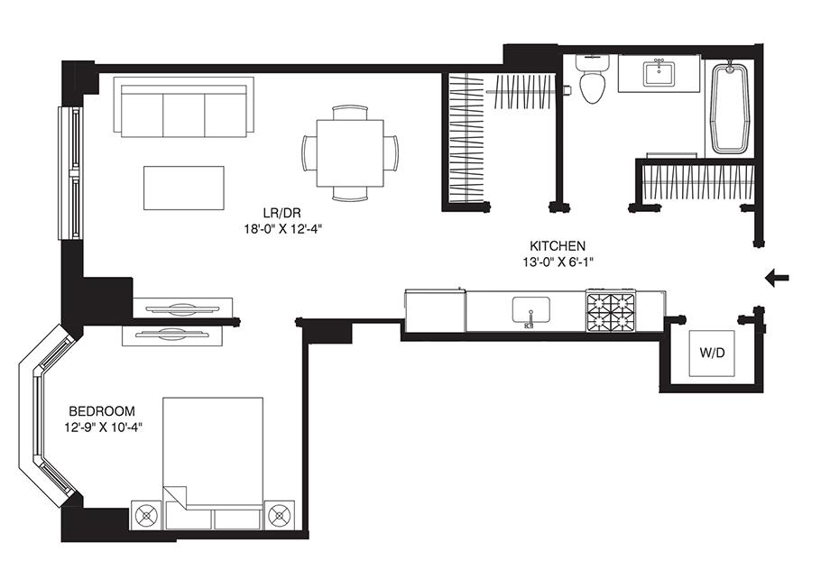 Residence G07 Floor Plan
